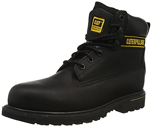 Cat Footwear Holton S3 HRO SRC, Botas de Trabajo Hombre, Black, 47 EU