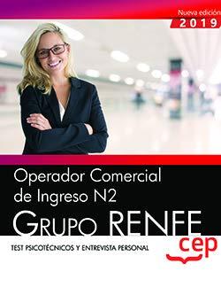 OPERADOR COMERCIAL DE INGRESO N2 GRUPO RENFE TEST PSICOTECN