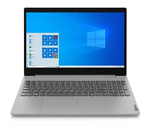 Lenovo IdeaPad 3 - Portátil 15.6' FullHD (Intel Core i7-1065G7, 8GB RAM, 512GB SSD, Intel Iris Plus Graphics, Windows10), Color Gris - Teclado QWERTY español