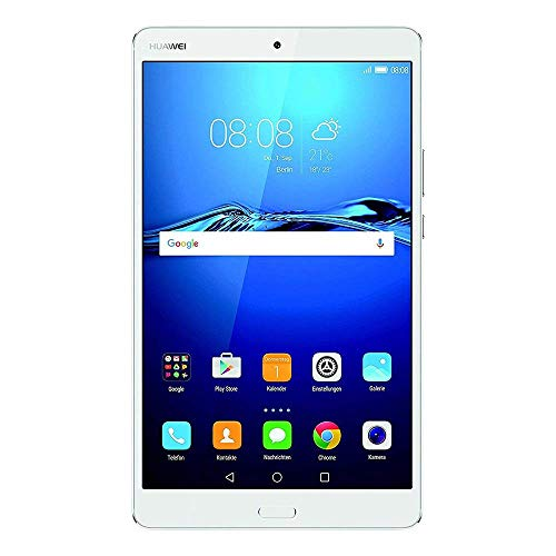 Huawei MediaPad M3 - Tablet de 8.4' (Procesador Octa Core Kirin 950, Memoria Interna de 32 GB, 4 GB RAM, Cámara de 8 Mp, Android 6.0), Color Plateado