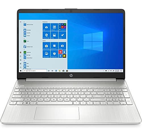 HP 15s-fq1089ns - Ordenador portátil de 15.6' FullHD (Intel Core i5-1035G1, 8GB RAM, 512GB SSD, Intel UHD Graphics, Windows 10 Home) plata - Teclado QWERTY Español
