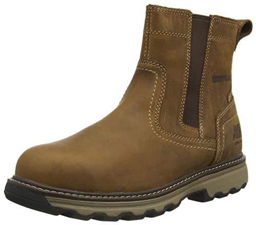 Cat Footwear Pelton, Botas de Trabajo Hombre, Marrón (Brown 003), 44 EU