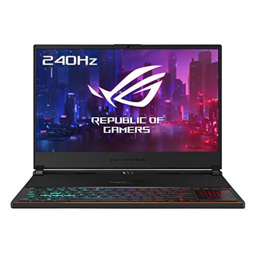 ASUS ROG Zephyrus S GX531GXR-AZ063T - Ordenador portátil Gaming de 15.6' FullHD (Intel Core i7-9750H, 24GB RAM, 1TB SSD, GeForce RTX 2080-8GB, Windows 10) negro - Teclado QWERTY Español