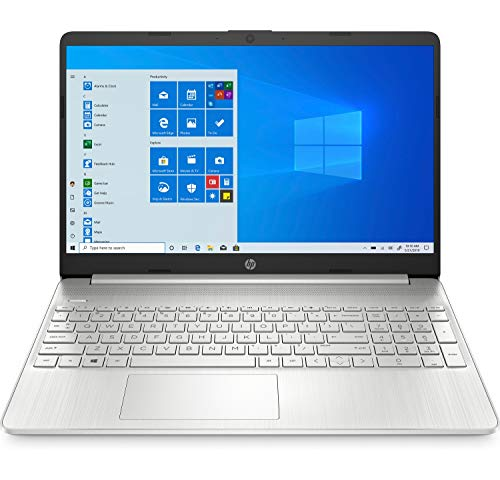 HP 15s-fq1089ns - Ordenador portátil de 15.6' FullHD (Intel Core i5-1035G1, 8GB RAM, 512GB SSD, Intel UHD Graphics, Windows 10 Home) plata - Teclado QWERTY Español