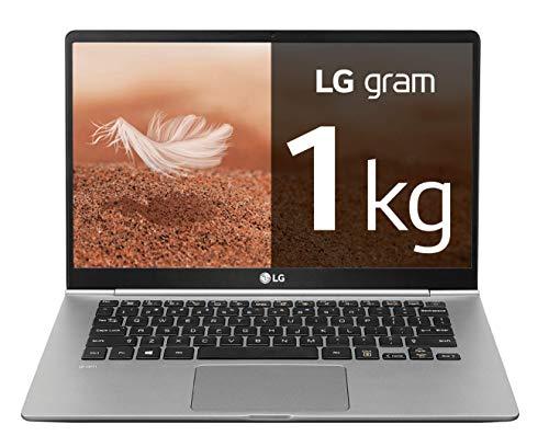 LG gram 14Z990-V - Ordenador portátil ultrafino - 35.5 cm (14') - FHD IPS (1 kg, autonomía 23.5 h, Intel Core i7-8565U, 8 GB RAM, 256 GB SSD, Windows 10 Home) Color Plata - Teclado QWERTY Español