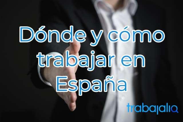 dónde trabajar en España