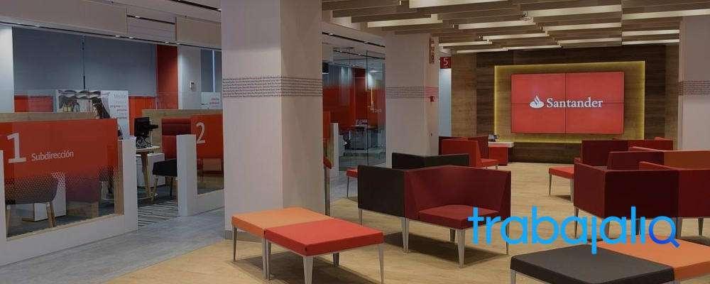 ¿Por qué trabajar en el Banco Santander?