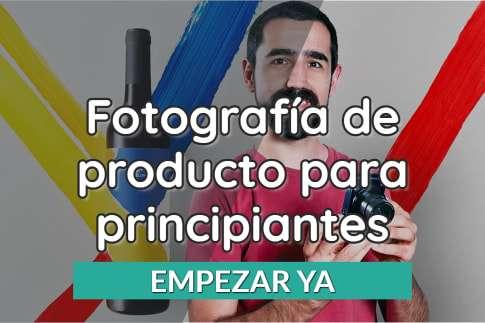 Fotografía de producto para principiantes