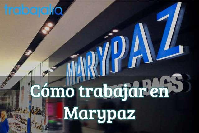 Cómo trabajar en Marypaz